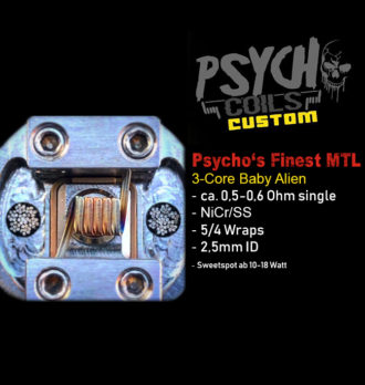 Psycho's Finest MTL 3-Kern Aliens