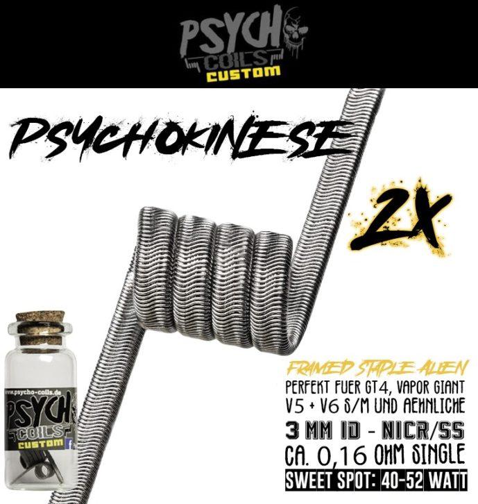 Psychokinese – Framed Staple Alien VG V5S + V6 2020