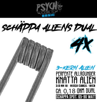 4x Schäppa Aliens (dual)