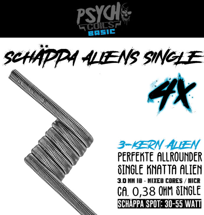 4x Schäppa Aliens (single)