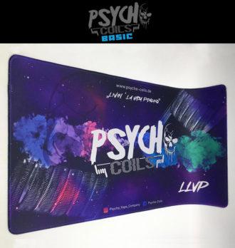 Psycho-Coils x LLVP Wickelmatte / Vape Mat / Schreibtischunterlage